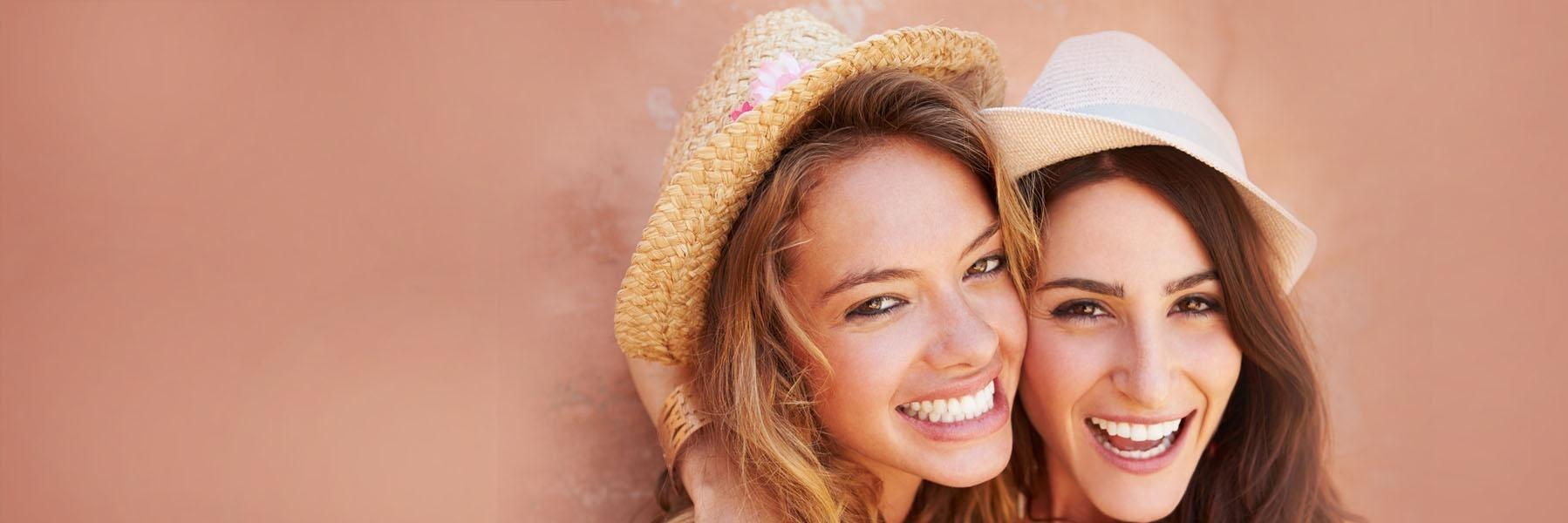 Girls with teeth whitening in tysons corner va