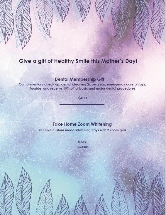 Mother's Day Special from your Vienna Dentist Office