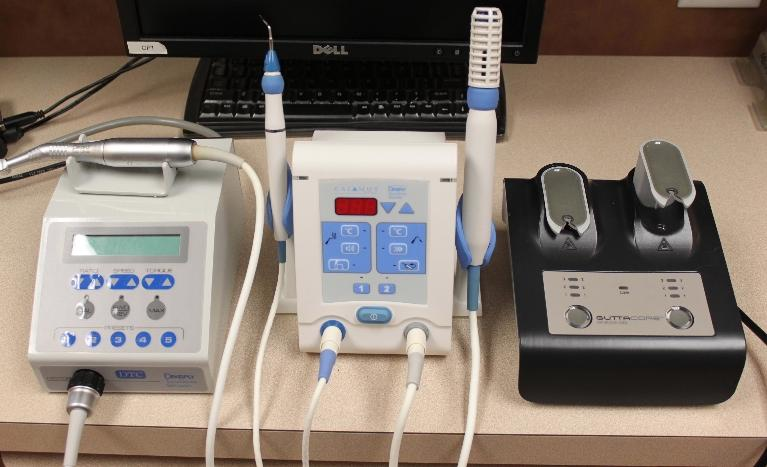 a set of rotary endodontic machines | dentist in vienna va